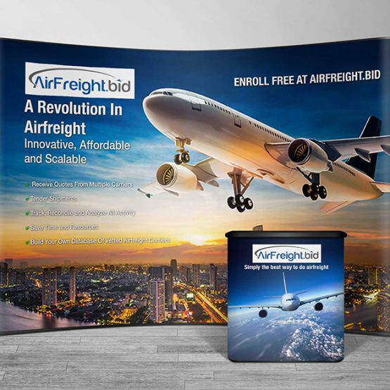 Booth for AirFreight